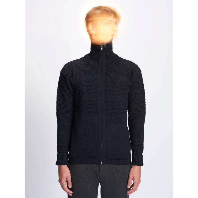 S.N.S Herning - Sømands cardigan - FISHERMAN jacket - Navy