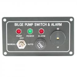 Kontaktpanel til lænsepumpe alarmkontakt