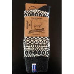 Ragsok med Islandsk flag - strømper
