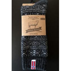 Ragsok med Norsk flag koks - strømper