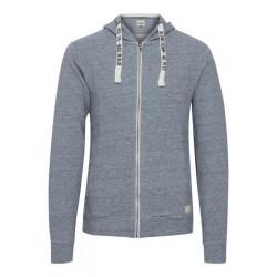 Sweatshirt med lynlås - Blend