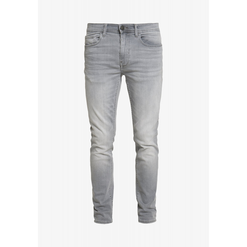 Grey - Clean Twister fit Jeans