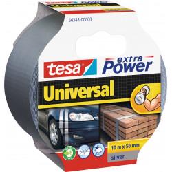 Tekstiltape tesa - Extra Power Sølv