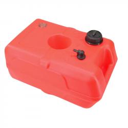 Brændstoftank, orange plast 22L