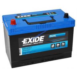Exide 115AH DUAL Blysyre batteri