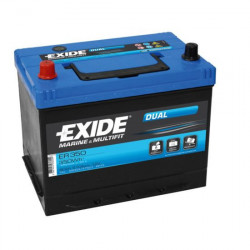 Exide 80AH DUAL Blysyre batteri