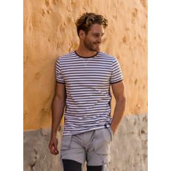 Classic Stripe Short Sleeve - Grey - Pelle P