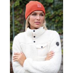 W Sherpa Sweater - Pelle P - Hvid