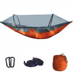 Hængekøje m/myggenet - Orange - FladenFishing