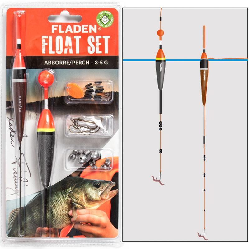 Flådsæt aborre - Fladen Fishing