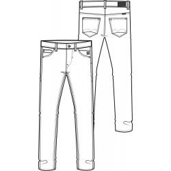 Rock - Blend jeans mørk rock