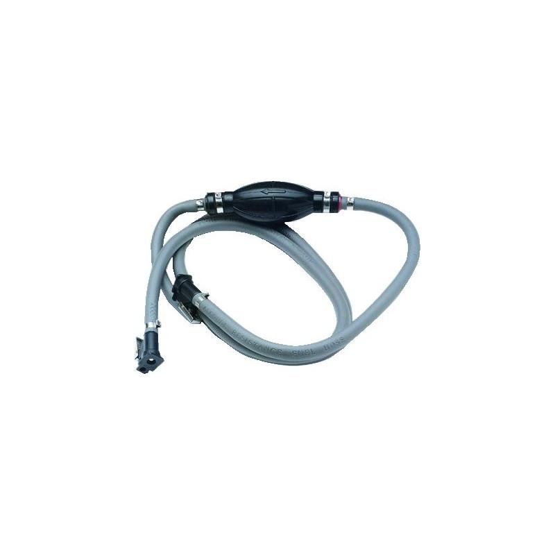 Brændsstofslange med pumpebold