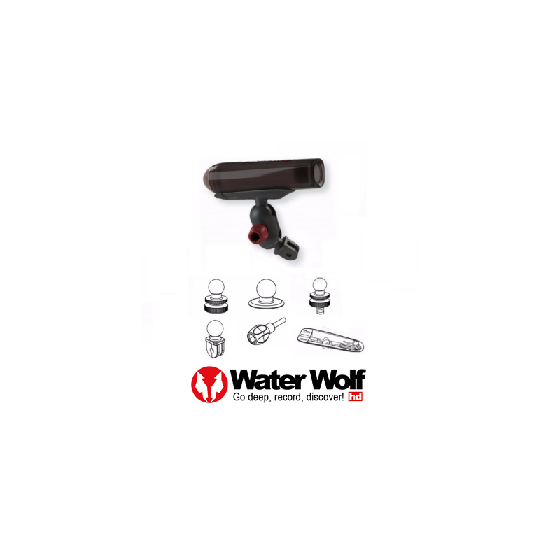 Water Wolf Universal Fishing Mount Kit